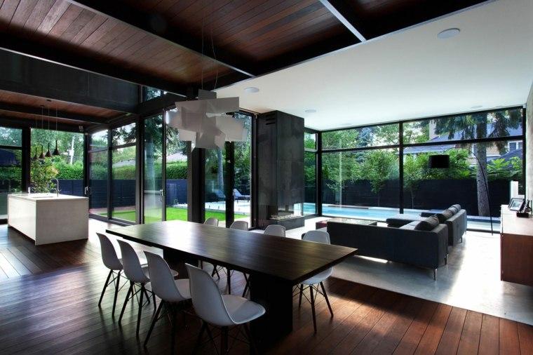 mesas cocina modernas-diseno-YH2-Architecture