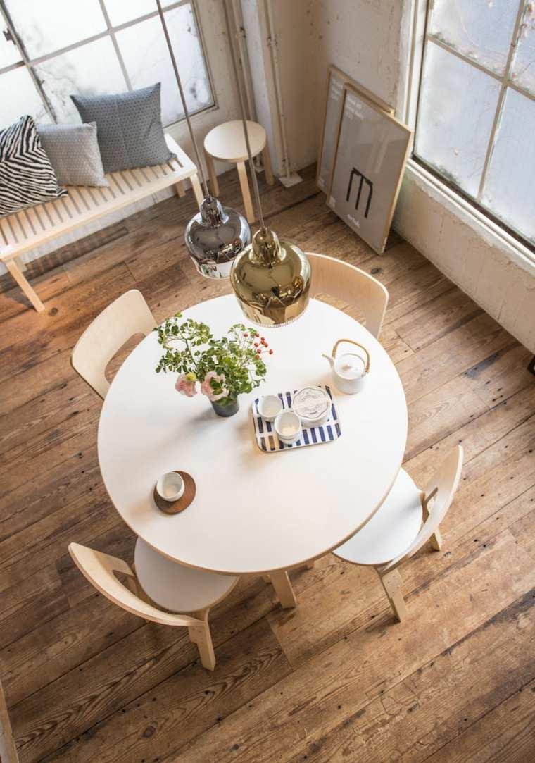 Mesas cocina modernas una gu a para elegir la mesa de la cocina - Mesas redondas para cocinas ...