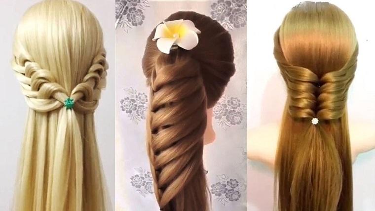 modelos peinados pelos largos