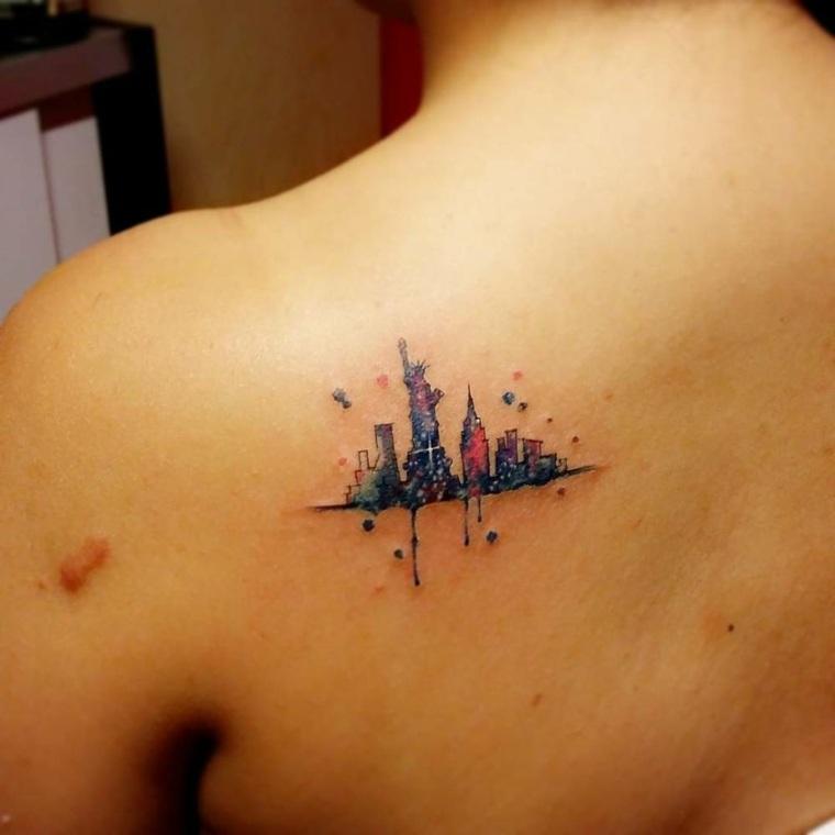 silueta de ciudad