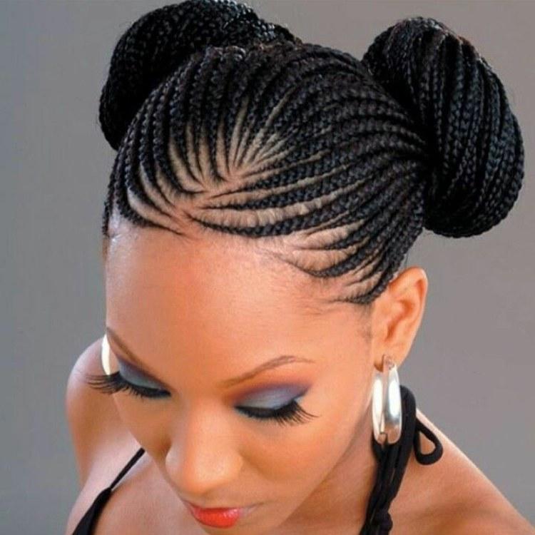 peinados con trenzas maquillaje especial