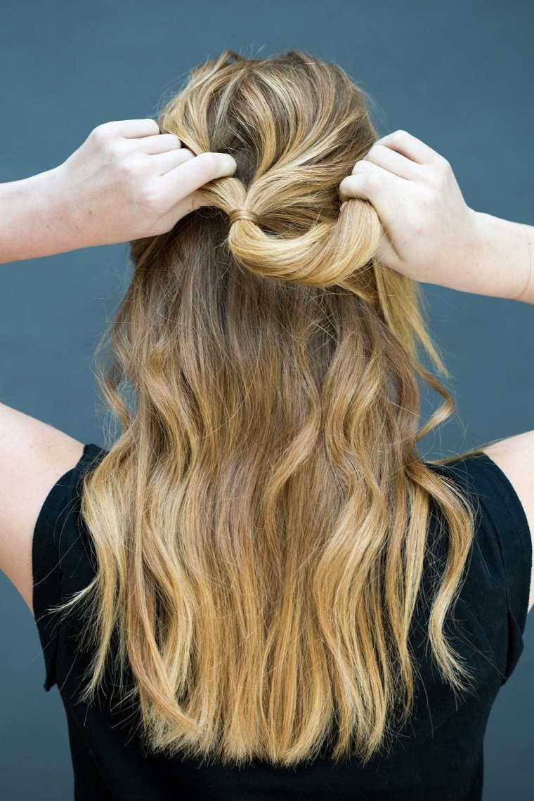 peinados faciles ideas muchacha joven