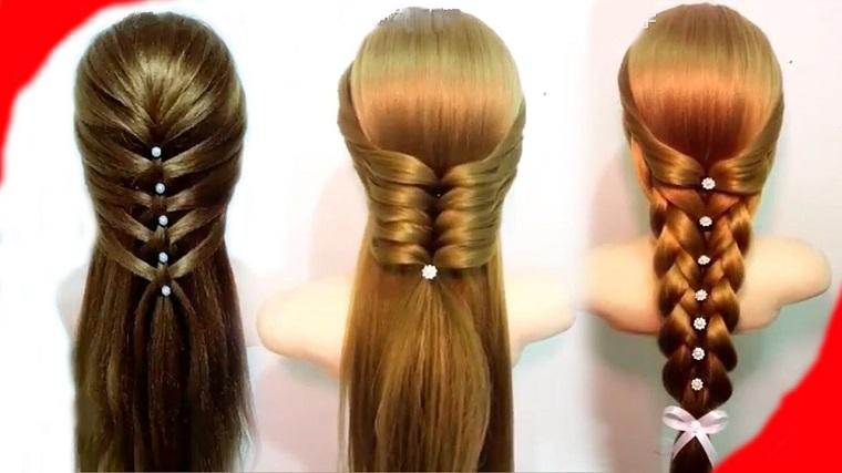 peinados faciles ideas tres ejemplos