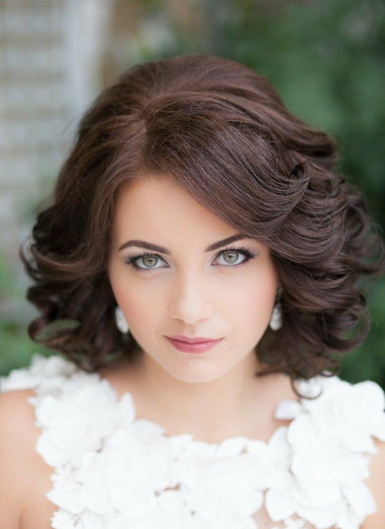 Peinados para bodas pelo corto e ideas para decorar el - Peinados elegantes para una boda ...