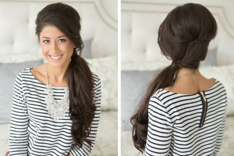 peinados pelo largo-lado-cola