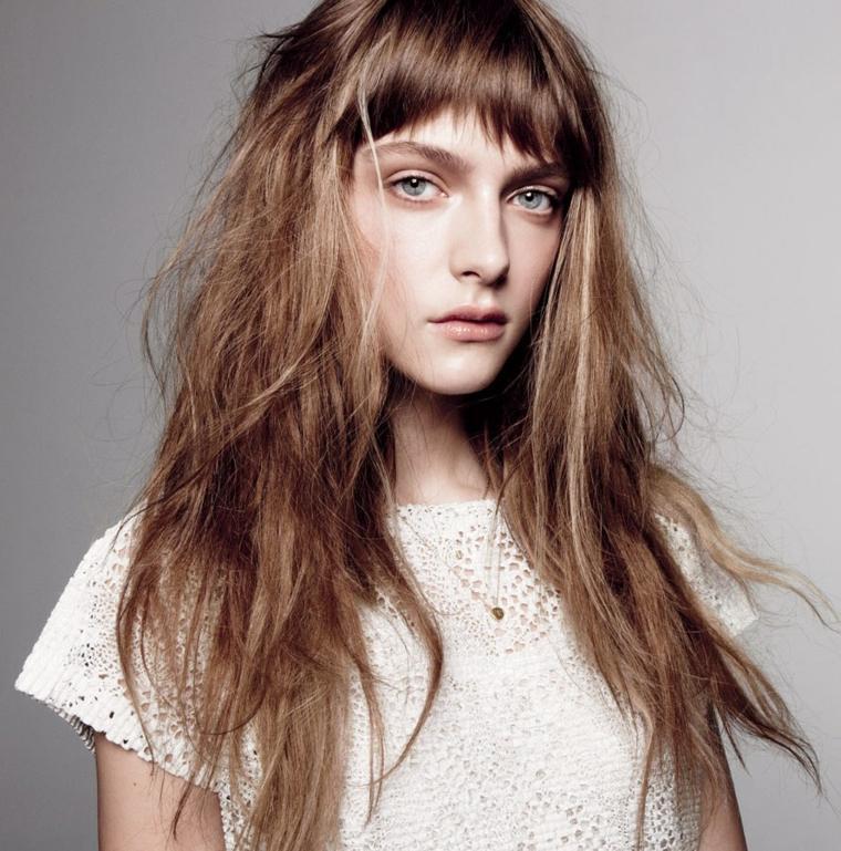 cortes de pelo largo pelo-largo-flequillo-opciones-estilo