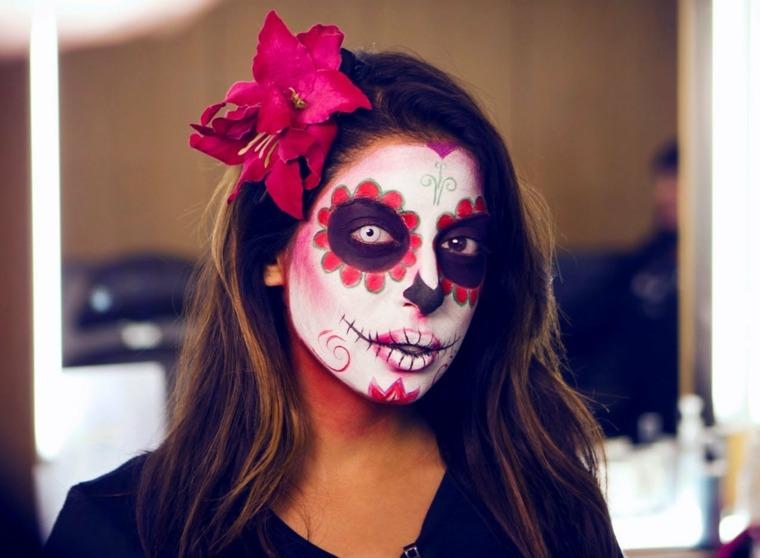 pinturas halloween mujer