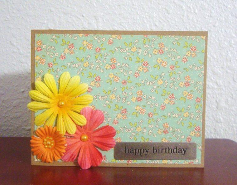 tarjetas de cumpleaños artesanales