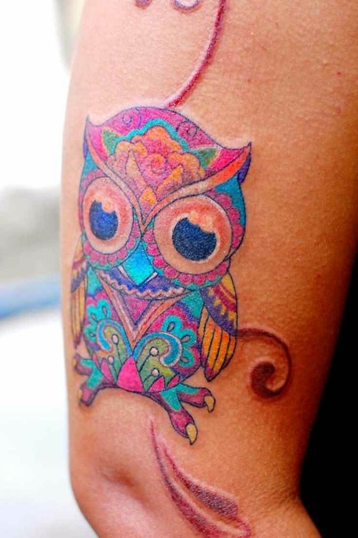 tatuaje de buho