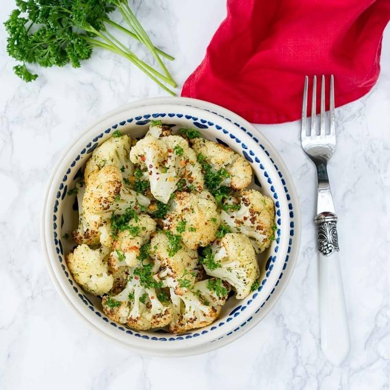 recetas-sanas-bajas-calorias-opciones-coliflor-tostada