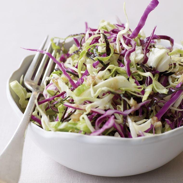 recetas sanas-bajas-calorias-opciones-repollo-ensalada