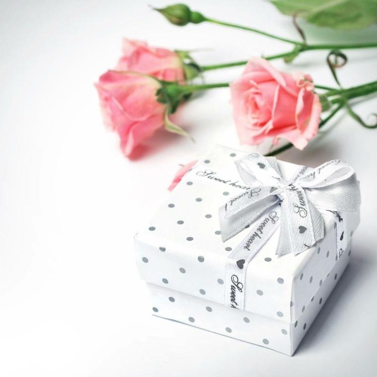 regalos originales para bodas blanco