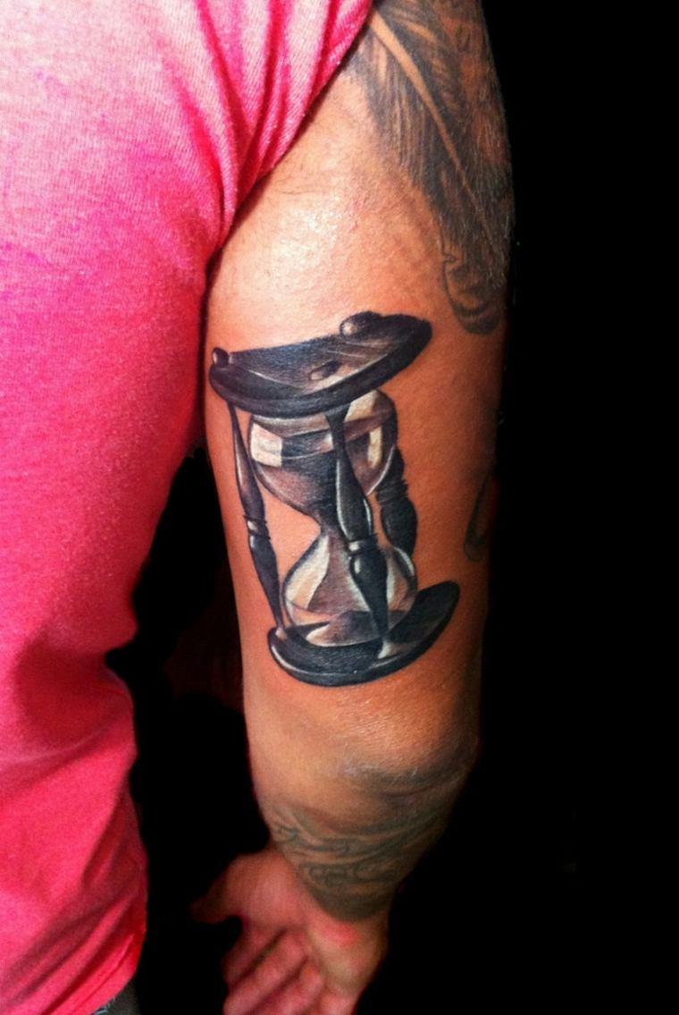 Tatuajes De Reloj De Arena Pequeños