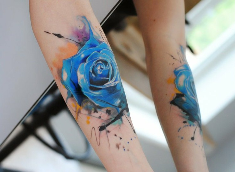 rosas-azules-acuarela-opciones-originales