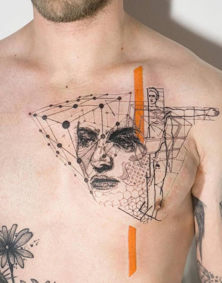 simbolos geometricos leonardo da vinci graficos