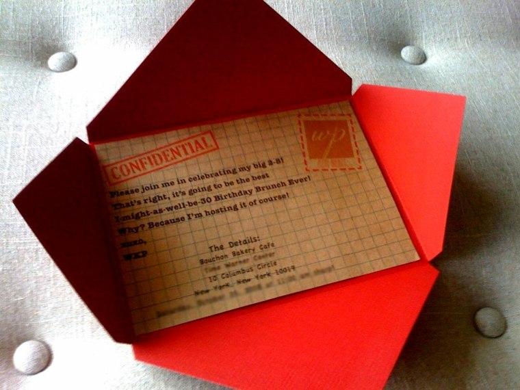 tarjetas de cumpleaños e invitaciones