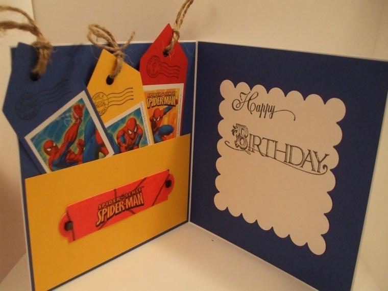 tarjeta Diy de cumpleaños