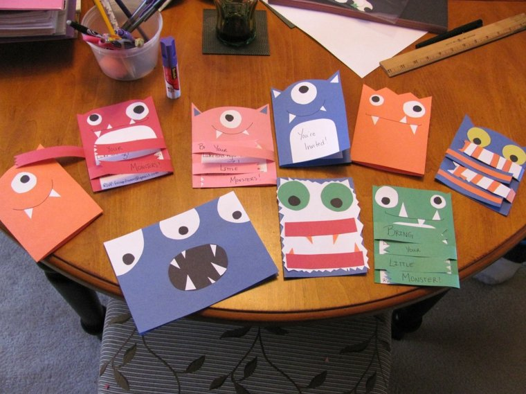 tarjetas de monstruos