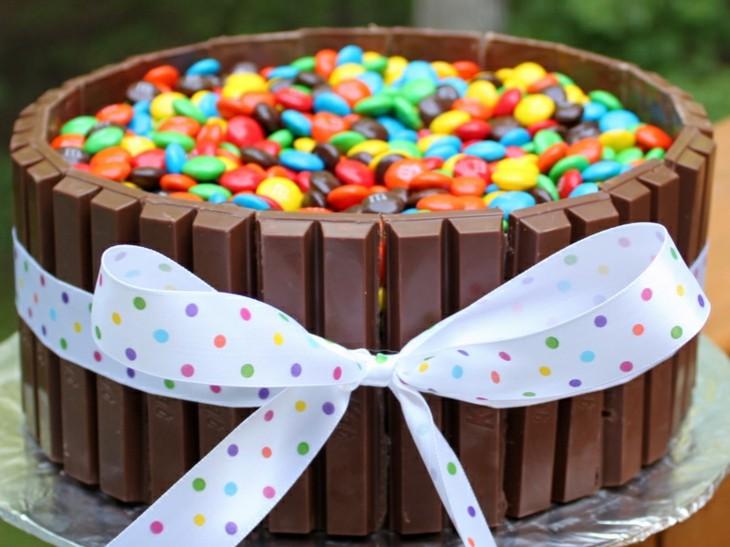 tartas de cumpleaños creativas modernas