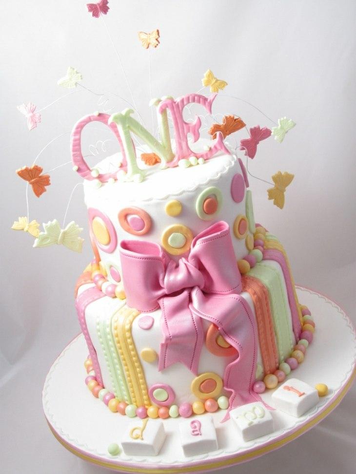 tartas de cumpleaños ninas creativa