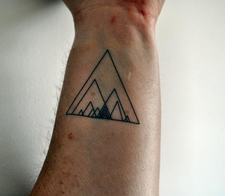 tatuaje de formas