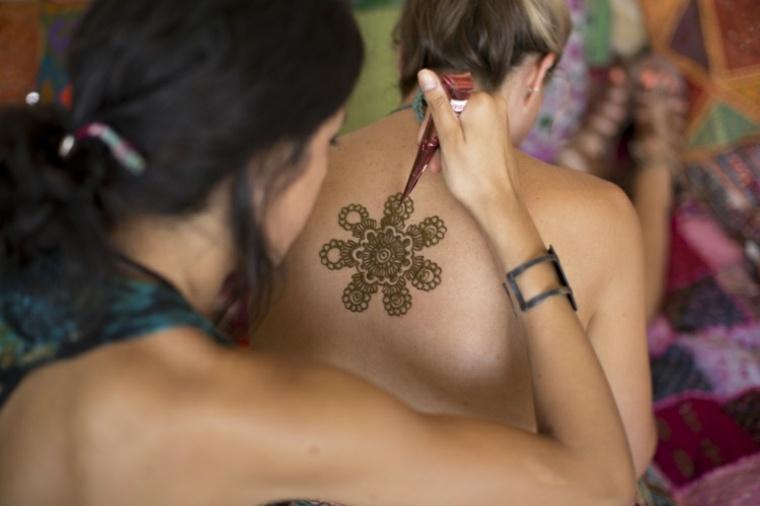 mandala de henna