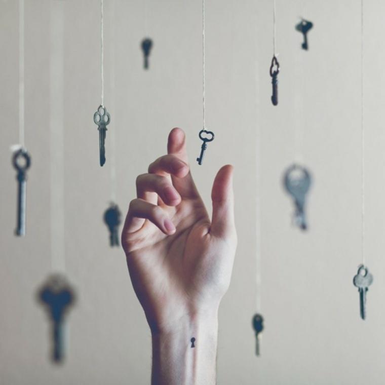 cerradura para llave