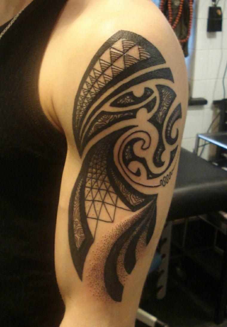 originales tatuajes Moko