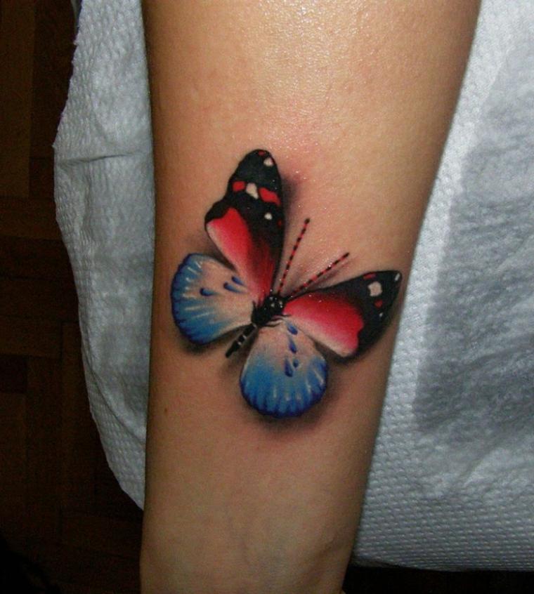 tatuajes con mariposas brazo
