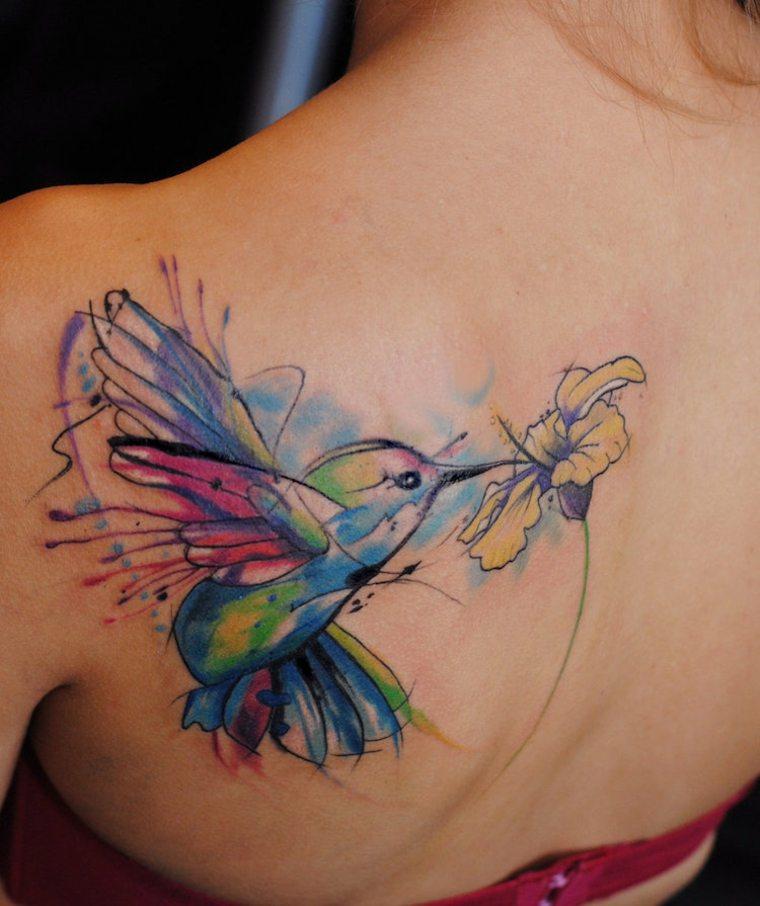 sombología de tatuajes de aves