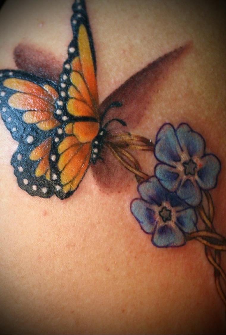 tatuajes-de-mariposas-flores-ideas
