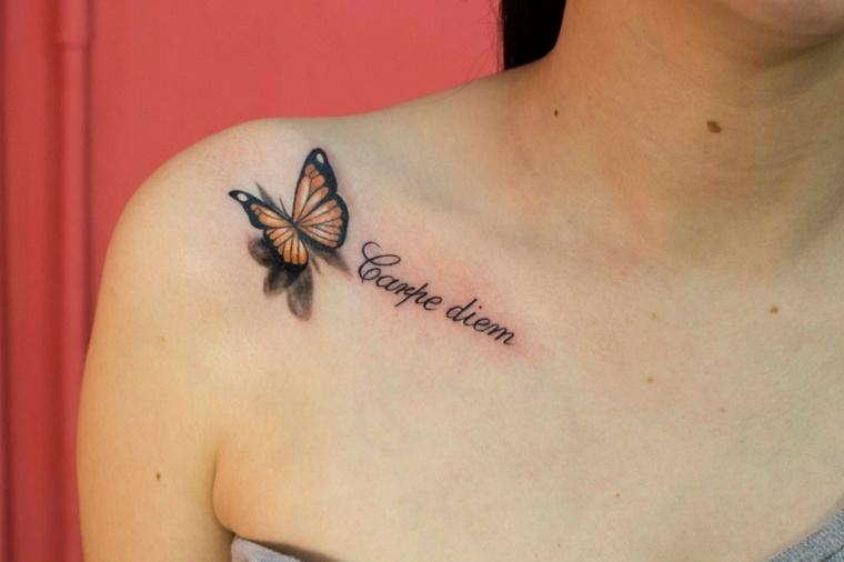 Tatuajes De Mariposas Significado Y Más De 40 Fotos