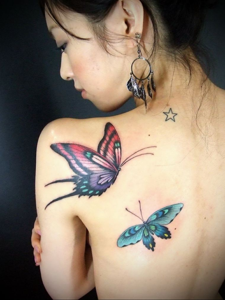 tatuajes-de-mariposas-grandes-bellas