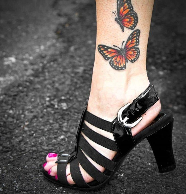 tatuajes-de-mariposas-tobillo-opciones-estilo