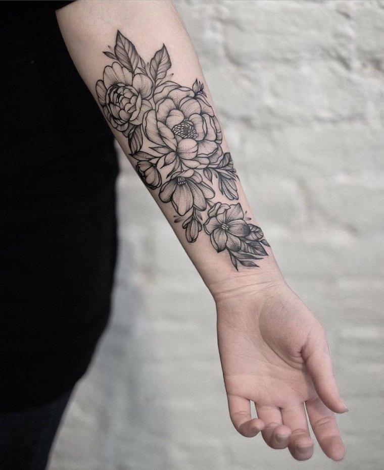 349 Best Images About Tat Up On Pinterest: Tatuajes Con Flores, Unas Ideas Muy Originales Para El