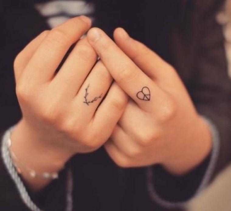 tatus para dedos