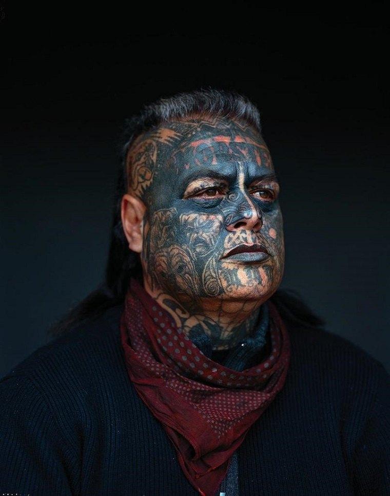 tatuajes maoríes significado tatuaje-facial-estilo
