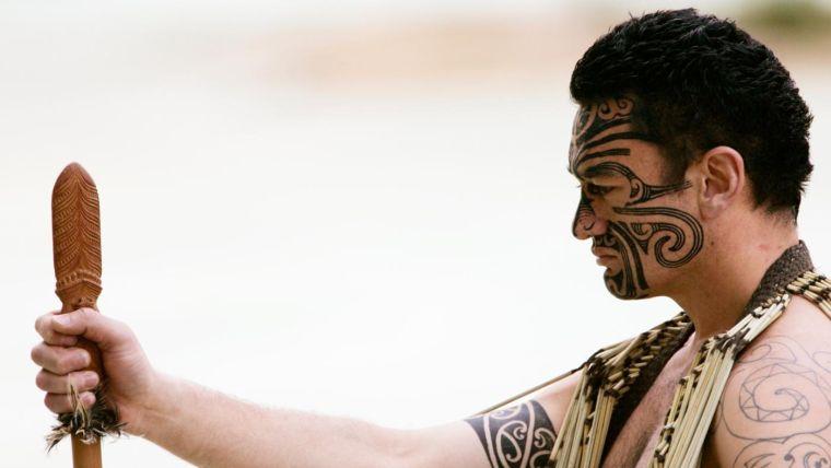 tatuajes maoríes significado cabeza-tatuada