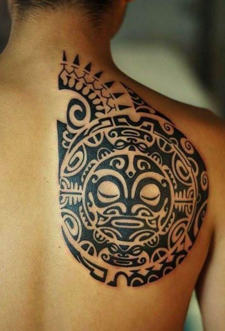 tatuajes maoríes significado diseno-espalda