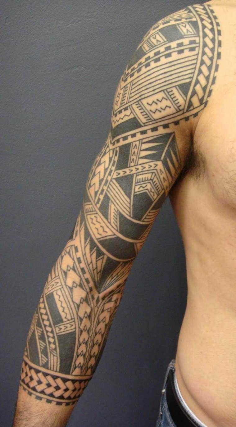 tatuajes originales para hombres disenos-tribales-mano