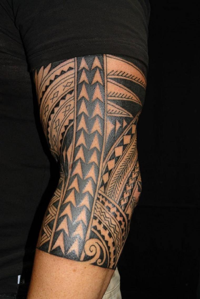 tatuajes originales para hombres-tribales-disenos