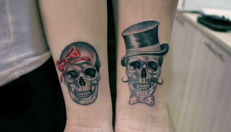 Tatuajes Para Parejas 50 Ideas Para Compartir Con El Ser Amado - Tatuaje-parejas