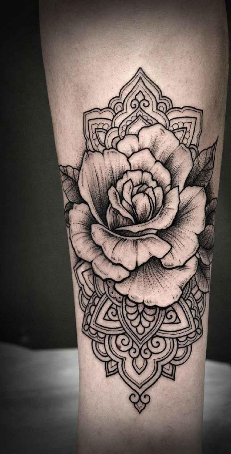 Tatuajes De Rosas Ideas Diseños Y Significado
