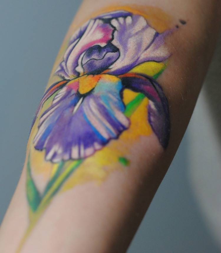 tecnicas-acuarela-tatuajes-disenos-estilo-moderno