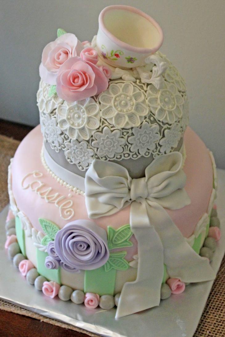 torta tipo vajilla tradicional