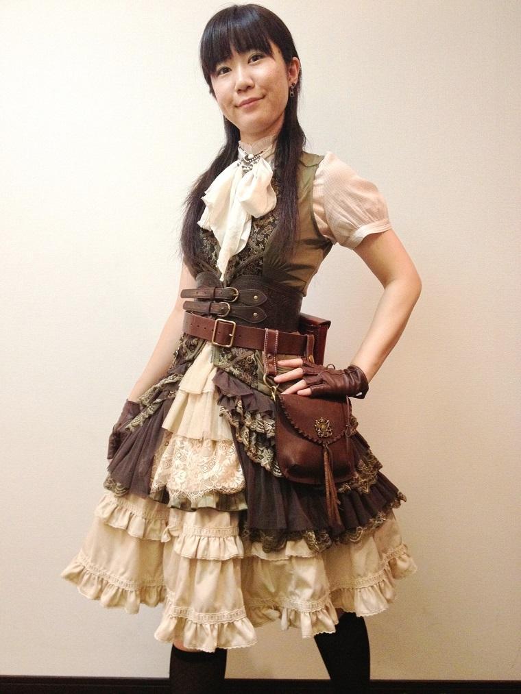 Steampunk moda victoriana