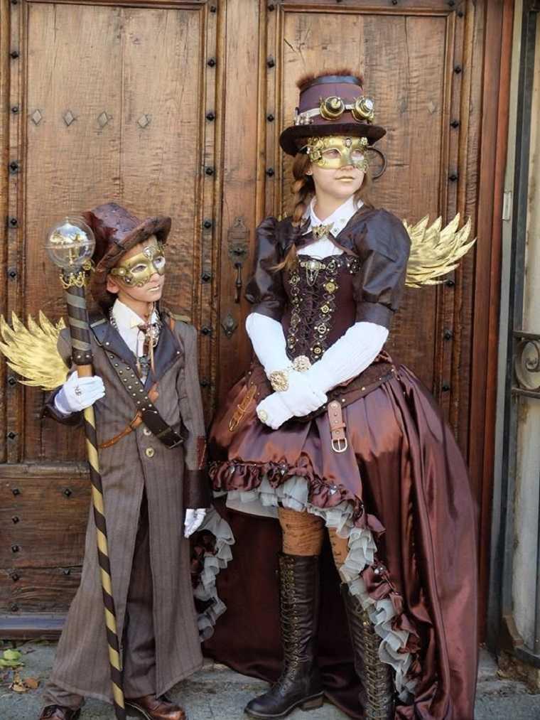 Steampunk moda para niños