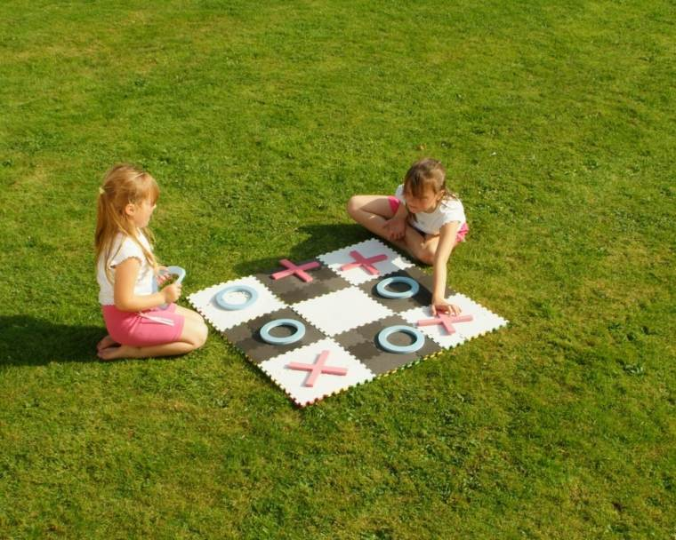 variantes juegos pasivos patios