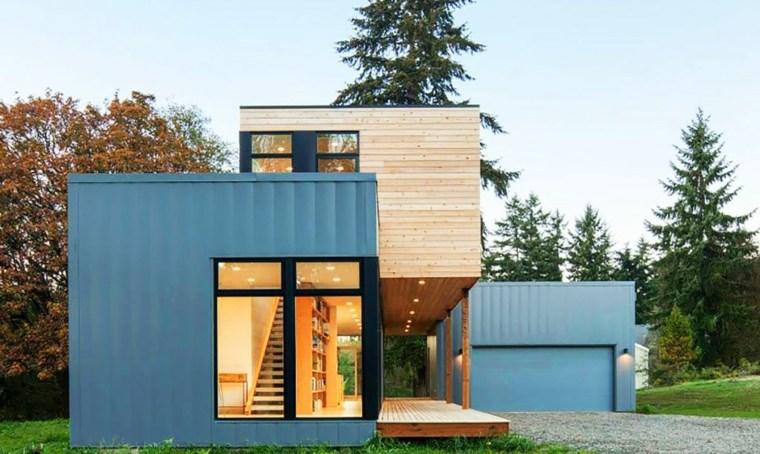 fachada de casa prefabricada