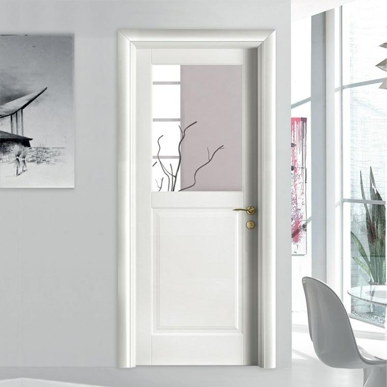 puerta blanca original